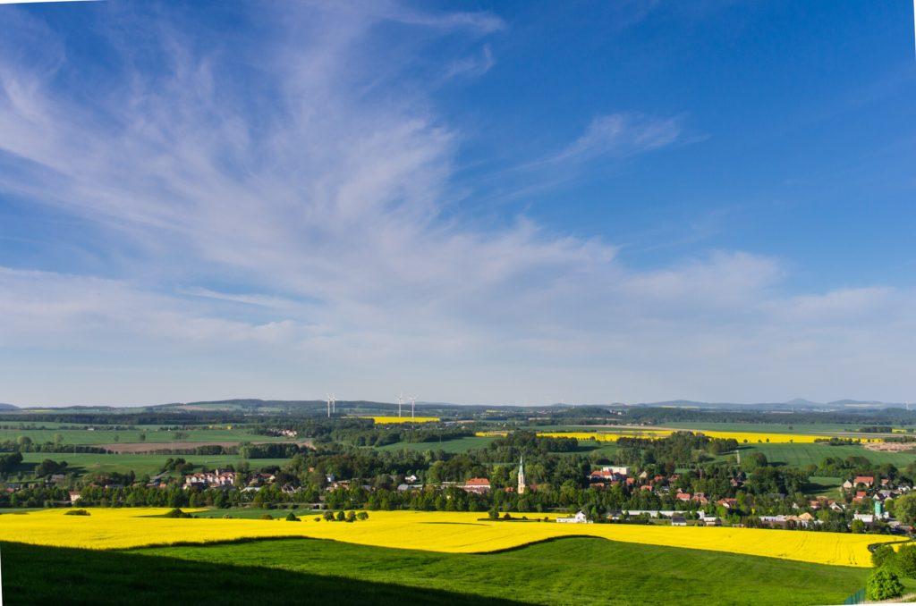 Blick vom Oberoderwitzer Spitzberg, Foto: CC-BY-NC-ND 3.0 Dirk Cohen