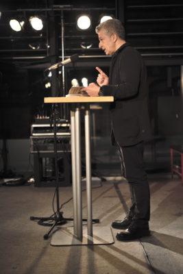 """Dr. Peter Ufer, zur Buchvorstellung """"100 Jahre Bergfinken"""" am 16.01.2020 im Dresdener Bärenzwinger"""
