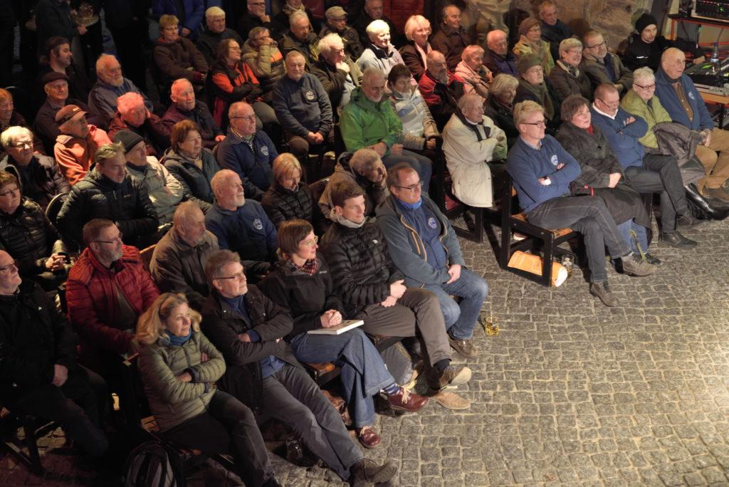 """Buchvorstellung """"100 Jahre Bergfinken"""" am 16.01.2020 im Dresdener Bärenzwinger"""