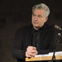 """Dr. Peter Ufer als Moderator, Buchvorstellung """"100 Jahre Bergfinken"""" am 16.01.2020 im Dresdener Bärenzwinger"""